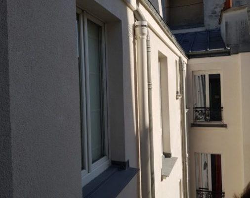 Ravalement d'un immeuble à Paris 17e